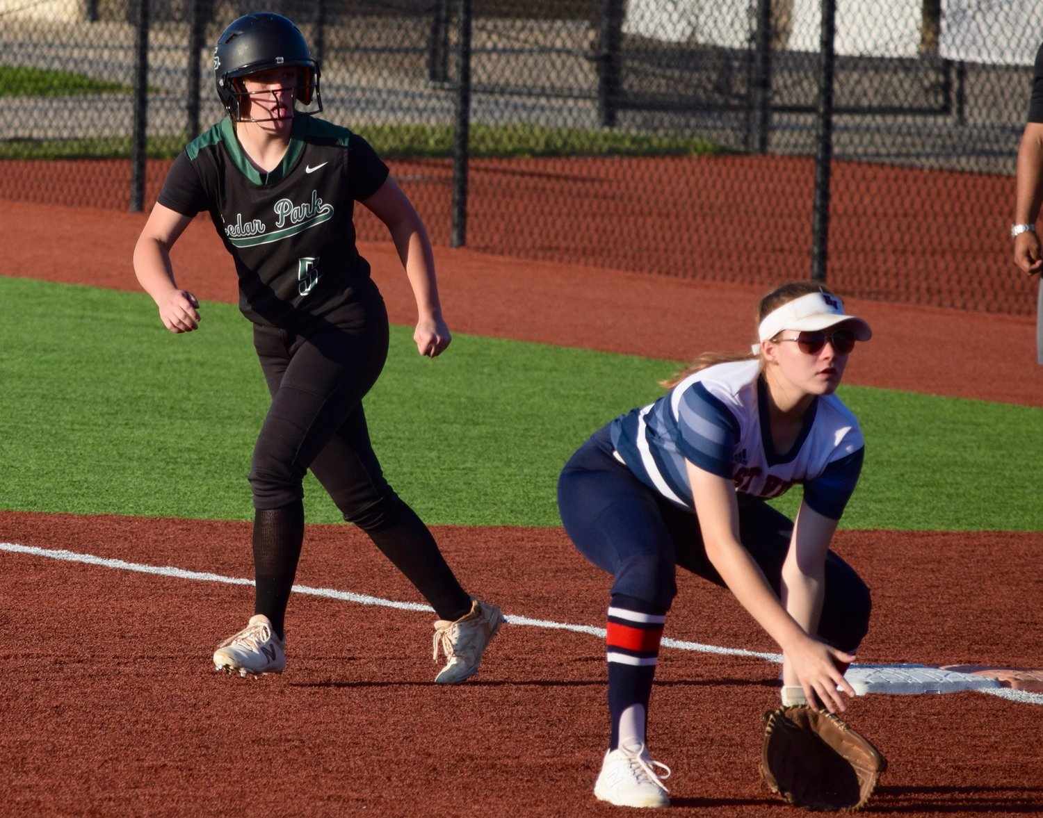 Mackenna Raby and Cedar Park lost to East View 4-3 in extra innings on Friday to bring the Lady Timberwolves' season to an end.