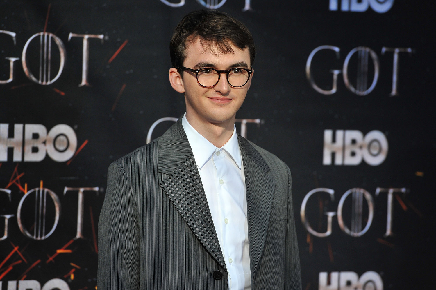 ae93c781b099 Isaac Hempstead Wright attends HBO s