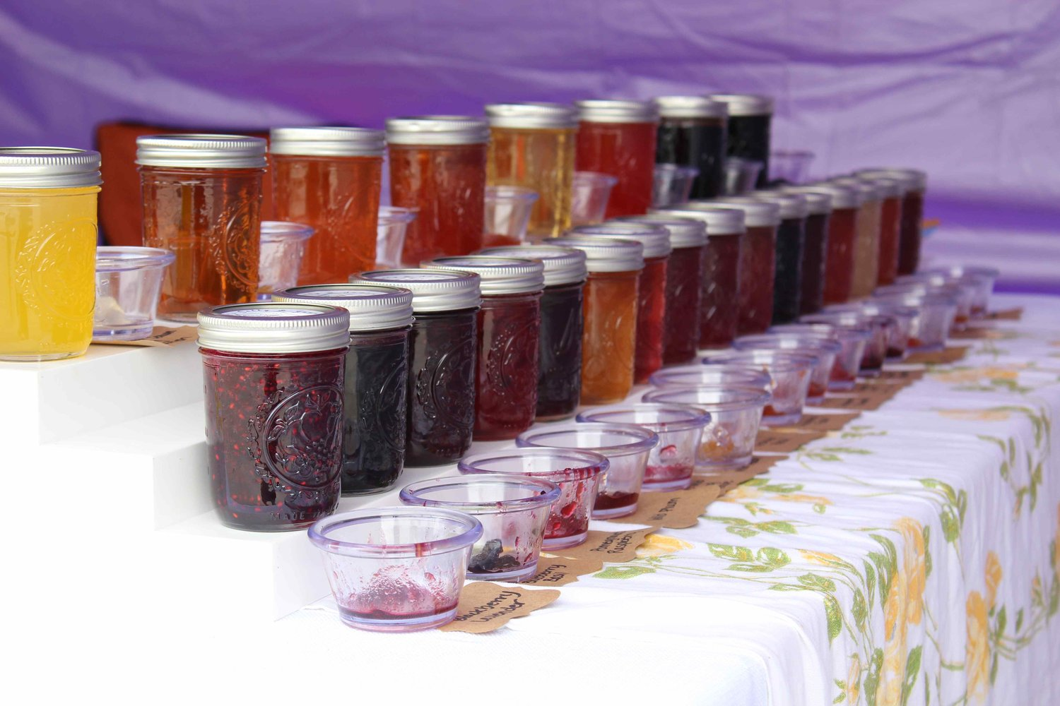 Jelly sold by Jewell's Jelly and Jams at the Jazz and Art on Main festival on May 11, 2019.