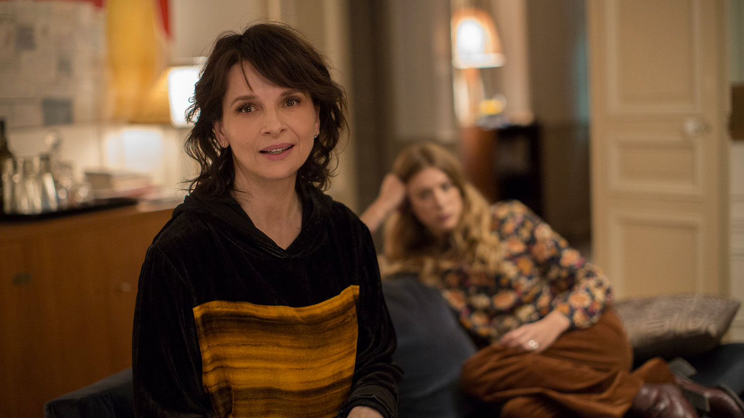 "Juliette Binoche as Selena in Olivier Assayas's ""Non-Fiction."""