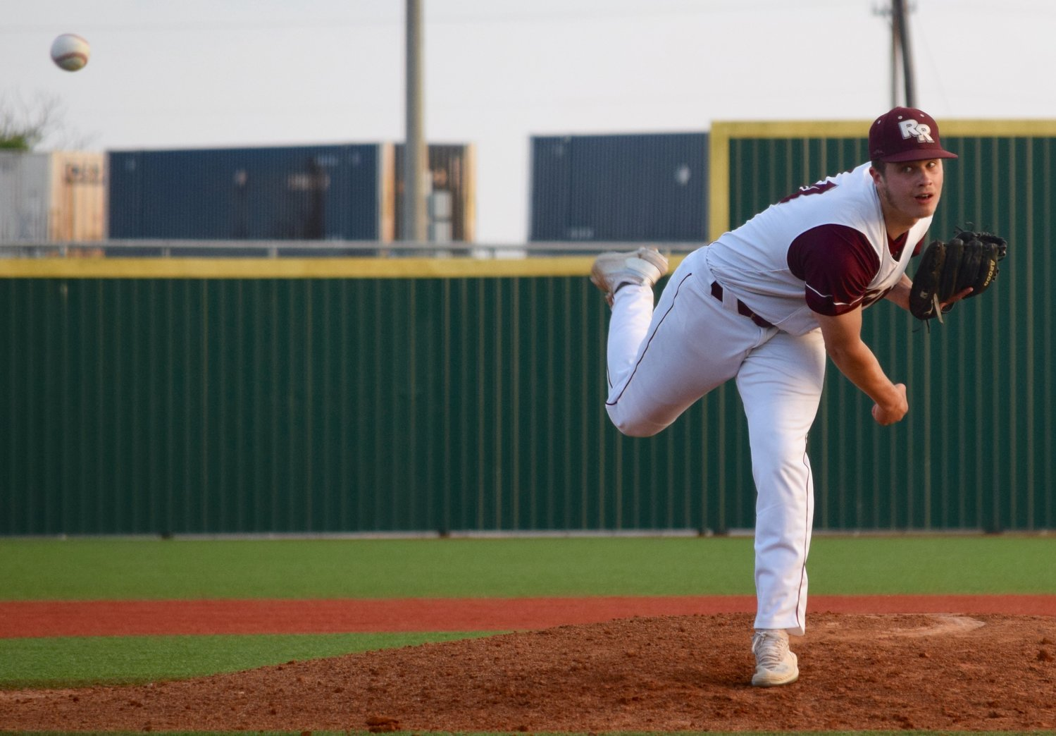 Sean Swain finished with six strikeouts and Round Rock beat top-ranked Cypress Ranch 2-1 on Friday to force a decisive Game 3.