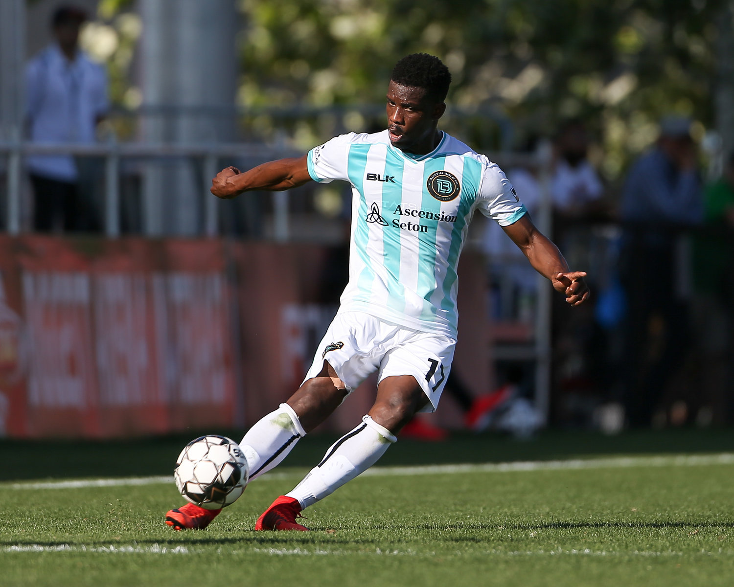 Bold defender Sean McFarlane (17) had a pair of assists in Austin's 2-0 win over Tulsa Roughnecks FC in the U.S. Open Cup on Tuesday night. The Bold host San Antonio FC in the next round on May 29.