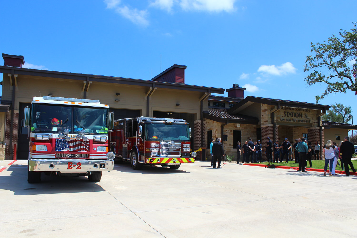 The new Sam Bass Fire Station 3 in Round Rock during a grand opening ceremony on May 16, 2019.