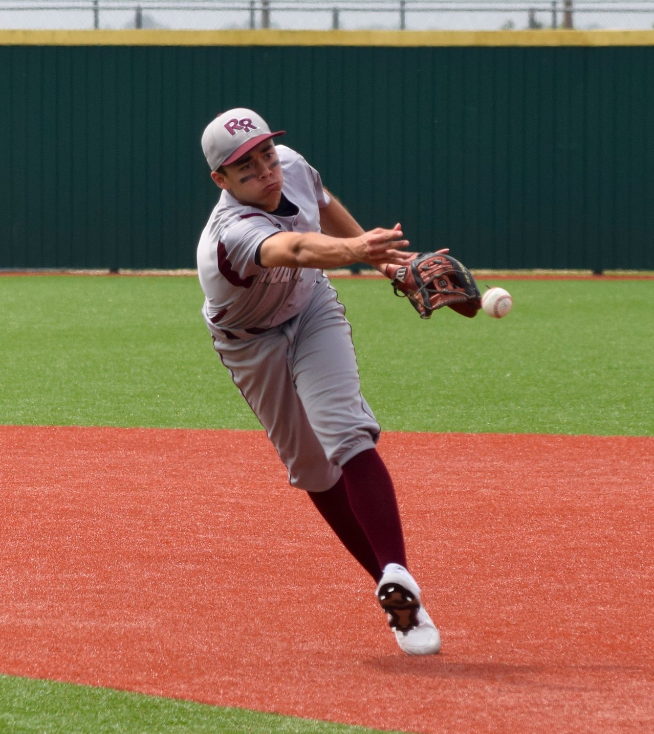 Julius Villareal and Round Rock lost to top-ranked Cy Ranch Saturday afternoon in Mumford and were eliminated from the playoffs.