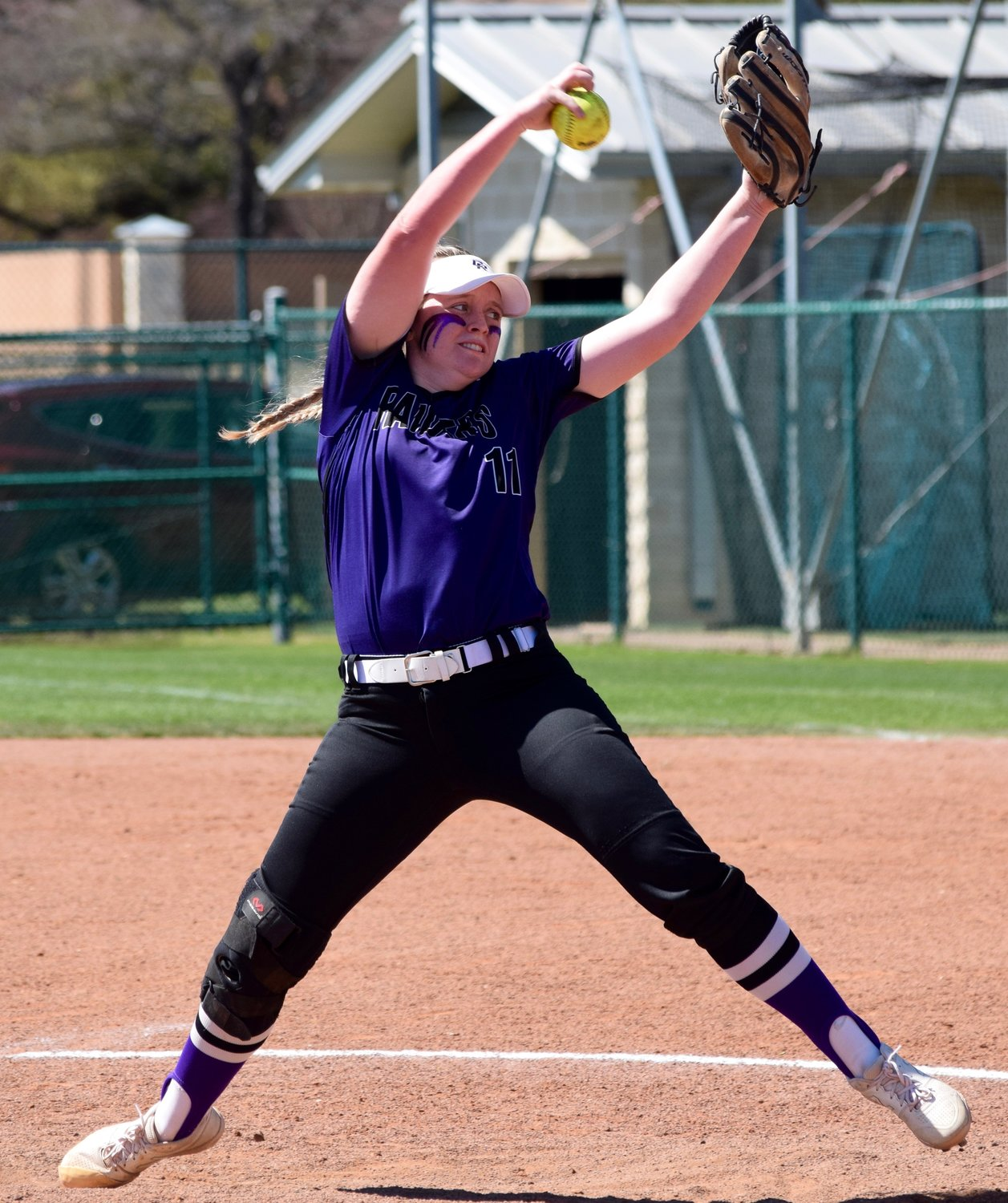Cedar Ridge pitcher Tori McCann was the District 13-6A MVP as the Lady Raiders went undefeated during the regular season and made it to the third round of the playoffs.