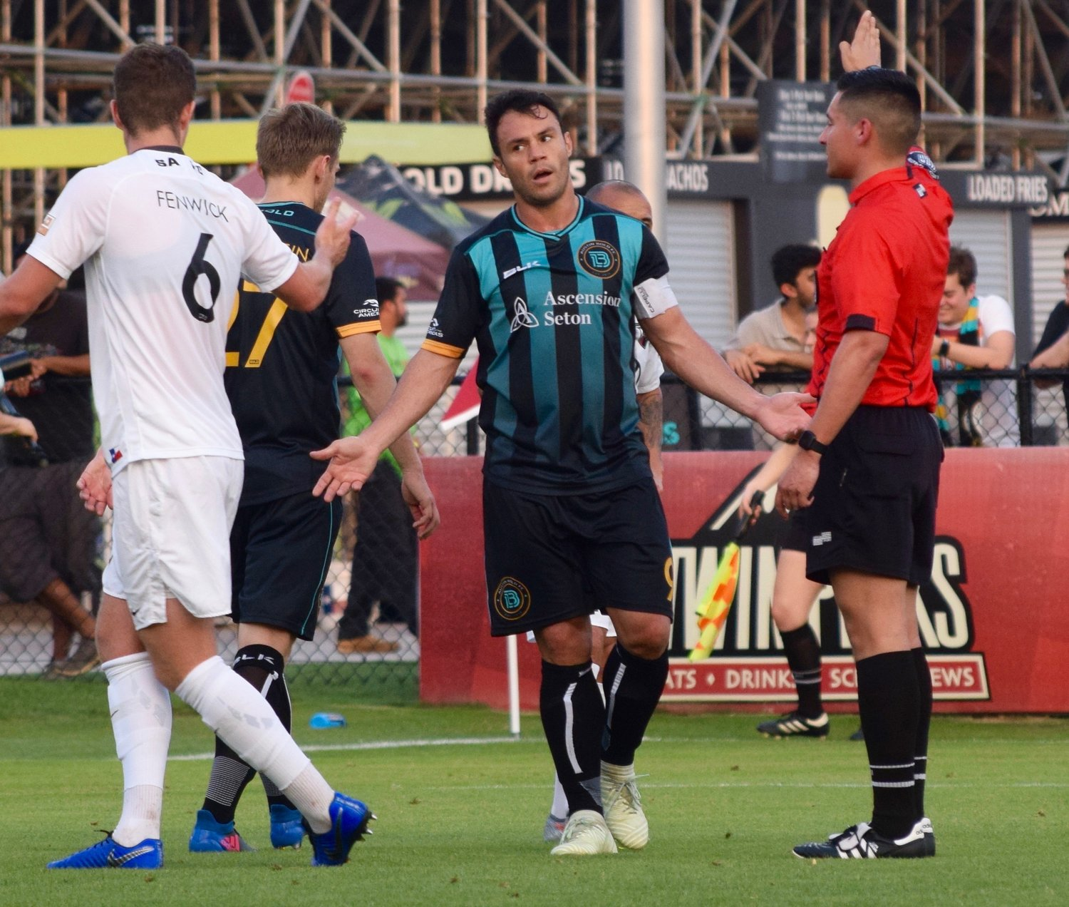 Klèber scored a goal as Austin Bold FC beat San Antonio FC 4-2 on Wednesday night in the third round of the U.S. Open Cup.