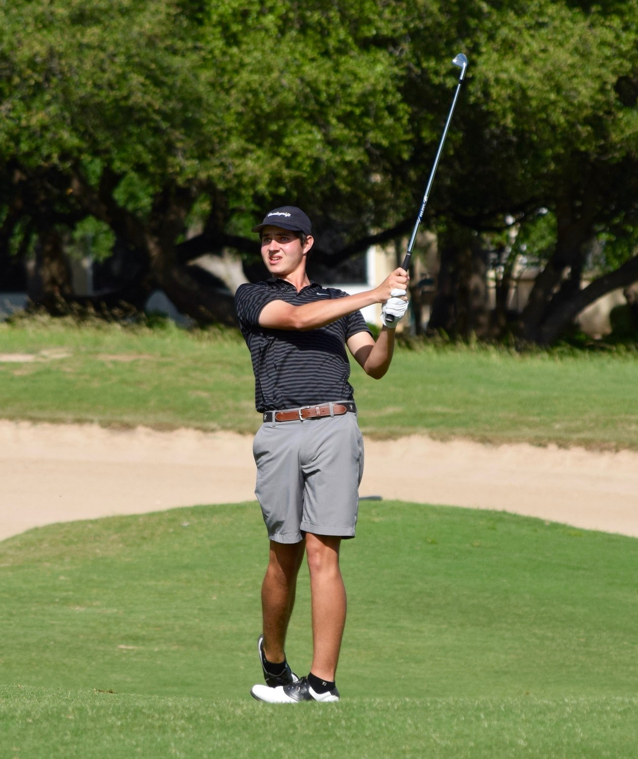 Cole Sherwood and Vandegrift finished second as a team at the state golf tournament in Georgetown. It's the second year in a row the Vipers won a silver medal at the tournament.