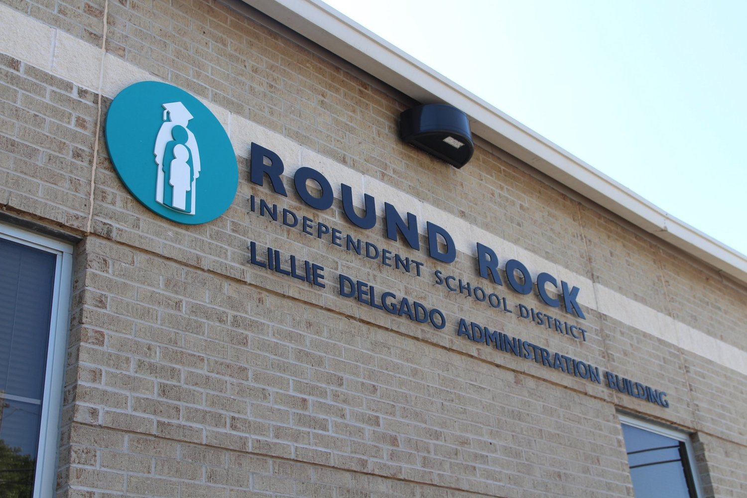 The Round Rock ISD Lillie Delgado Administration Building at 1311 Round Rock Ave. in Round Rock.