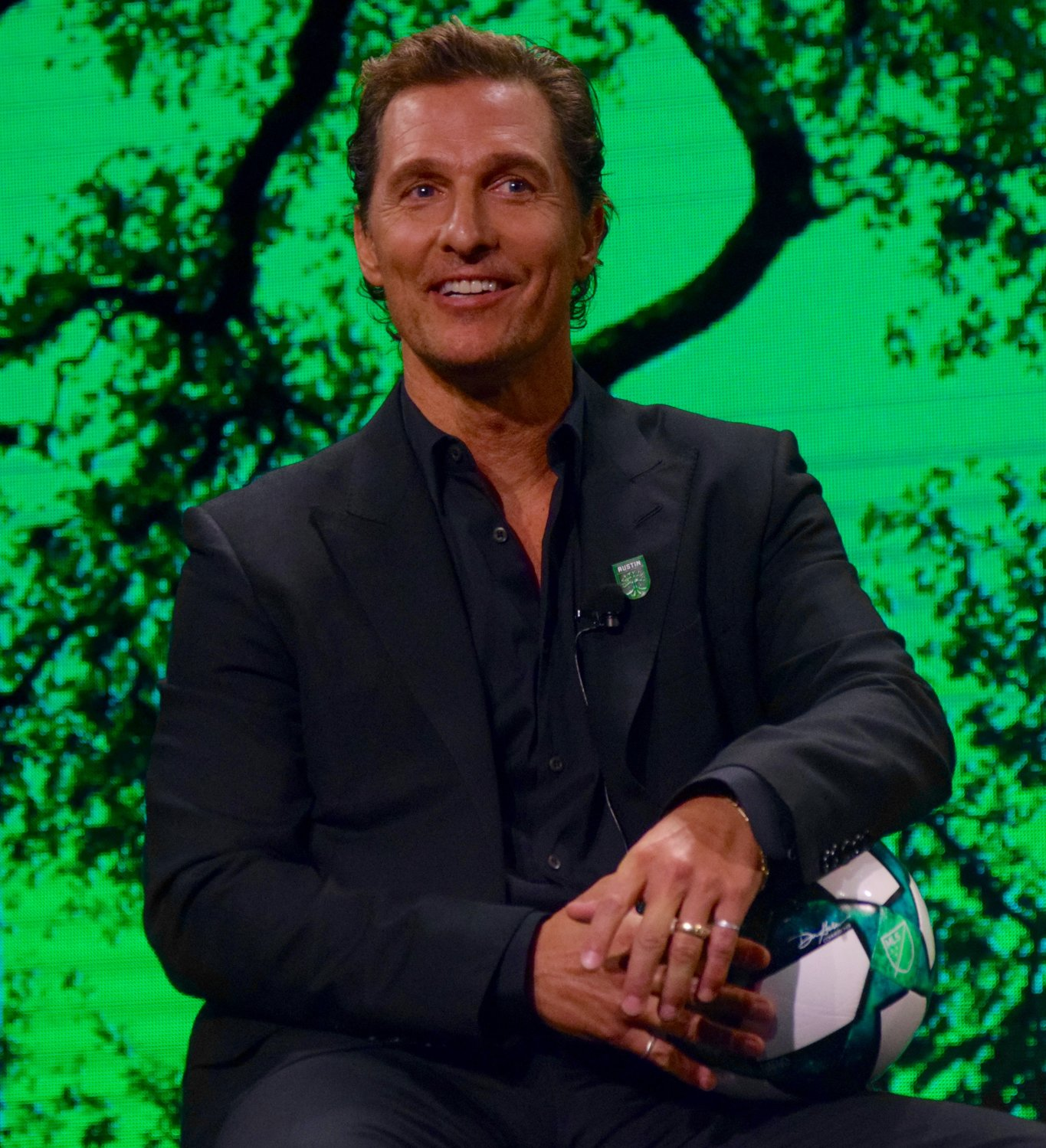 Academy Award-winning actor Matthew McConaughey joined the ownership group of Austin FC, the club announced at a special event on Friday.