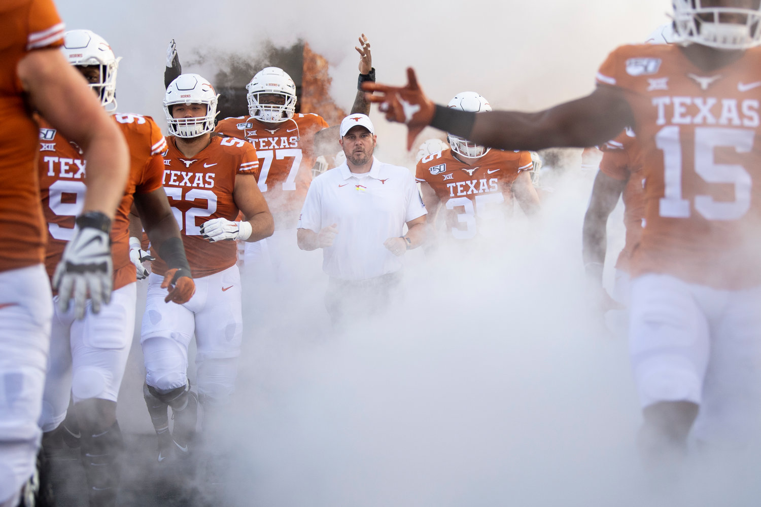 Tom Herman and Texas needed a fourth-quarter drive to beat Kansas last weekend. The No. 15 Longhorns head to Fort Worth to take on TCU Saturday afternoon.