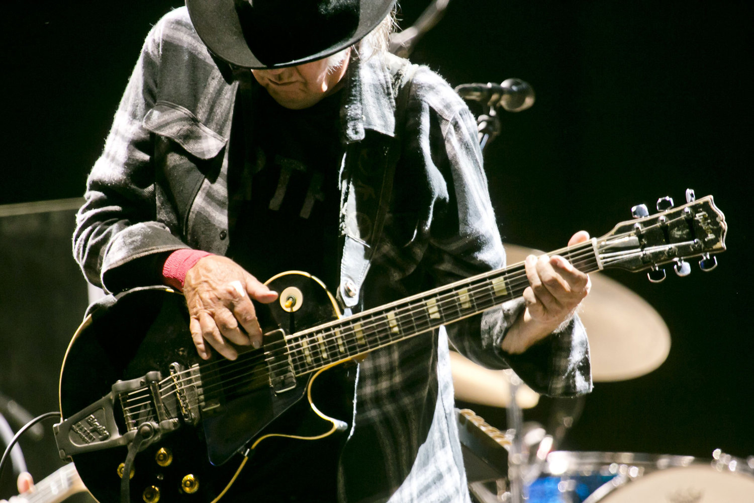 Neil Young performs at the Mad Cool Festival on June 18, 2016 in Madrid, Spain. Young will be auctioning off guitars, cars, model trains and other items for charity. (Rmv/Rex Shutterstock/Zuma Press/TNS)