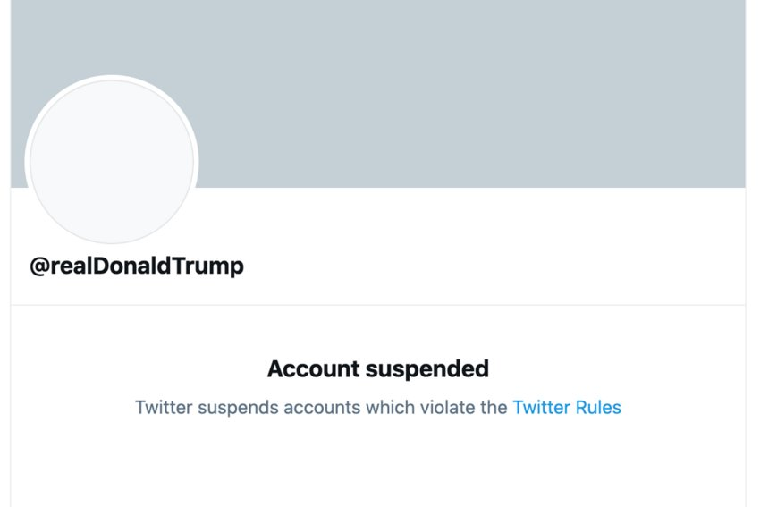 Trump lost his BFF: Twitter, for good, due to inciting violence that is ongoing in heavy chatter.