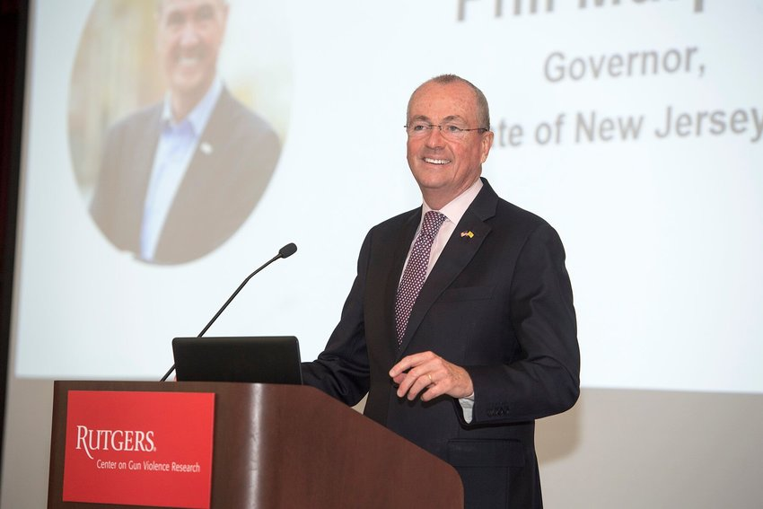 N.J. GOVERNOR PHIL MURPHY