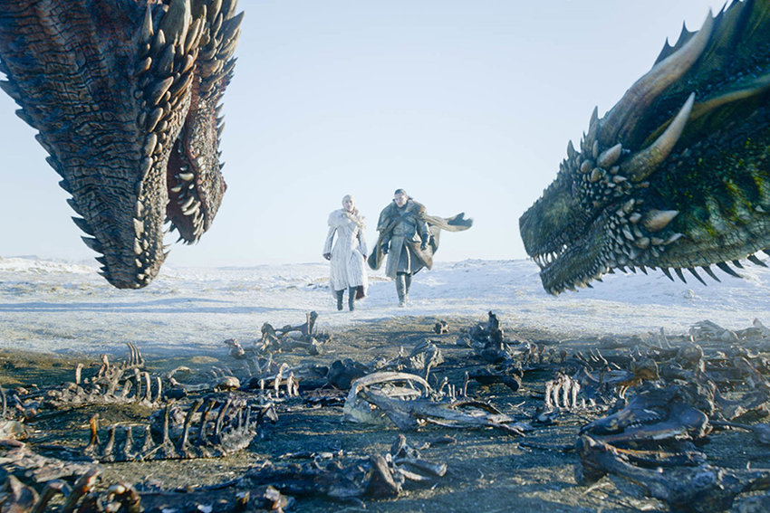 "Larry Scanlon, a professor in the Department of English, explains why HBO's Game of Thrones is ""TV's most watchable medieval show."" Photo courtesy of HBO."