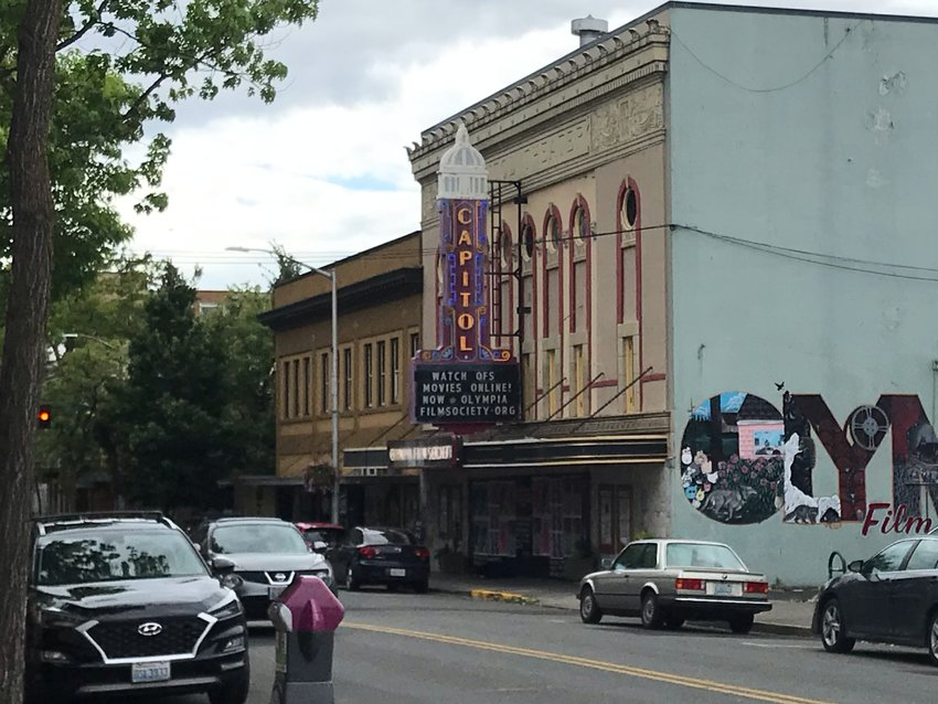 In the time of COVID-19, the Olympia Film Society, which often screens films at the Capitol Theater, has had to adjust to conducting operations differently during the pandemic.