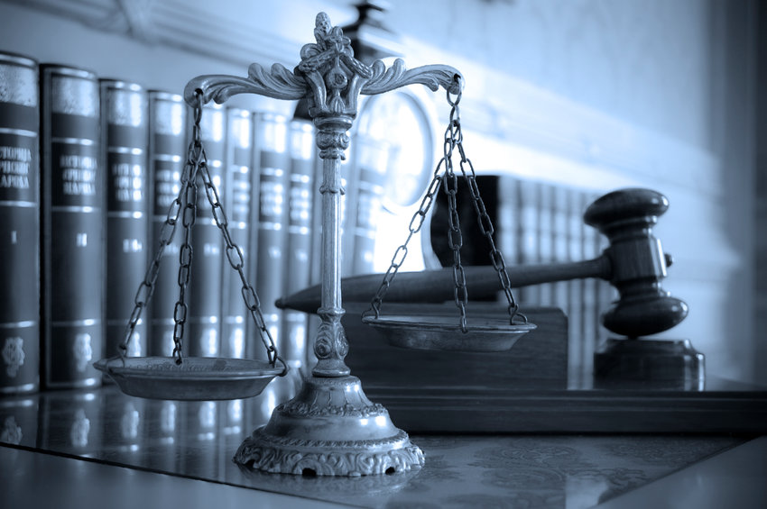 The scales of justice represent the balance between fairness and injustice.