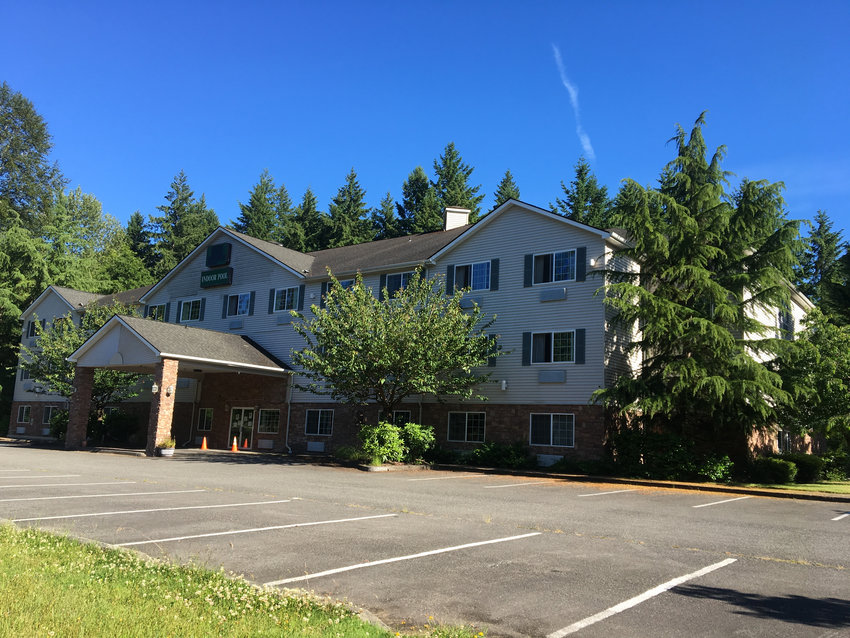 """The Thurston County Housing Authority is interested in purchasing the former OYO Hotel in Tumwater, above, and converting it into long-term housing for senior citizens and """"neighbors with disabilities."""""""