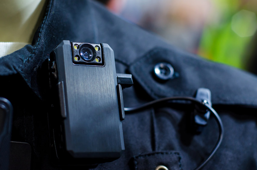 This is a close-up of a police body camera similar in function to what police throughout Washington will be using, according to new laws passed by the legislature in 2021.