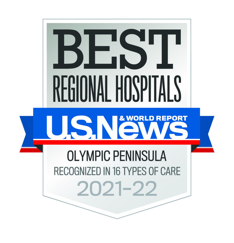 Providence St. Peter Hospital is being recognized for its high performance ratings in 16 specialty or procedural areas.
