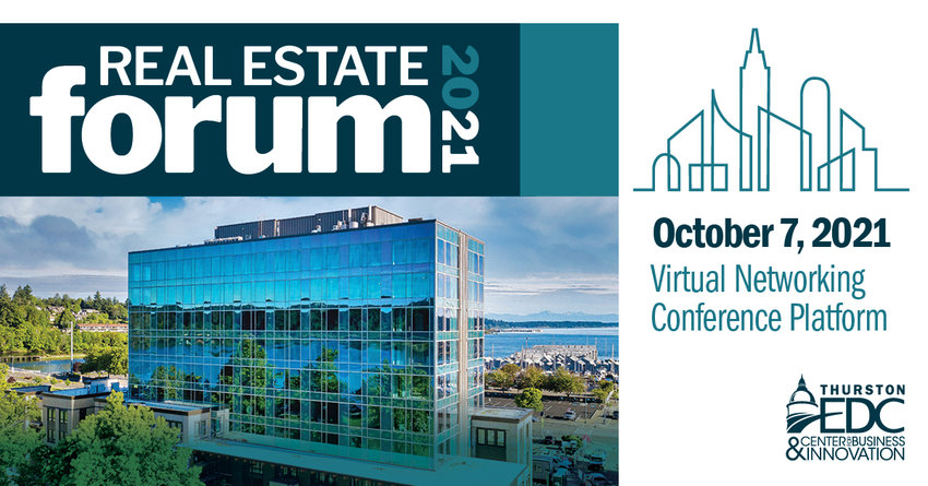 Due to continued concerns about the COVID-19 pandemic, the Thurston EDC's 13th annual Real Estate Forum has been moved online.