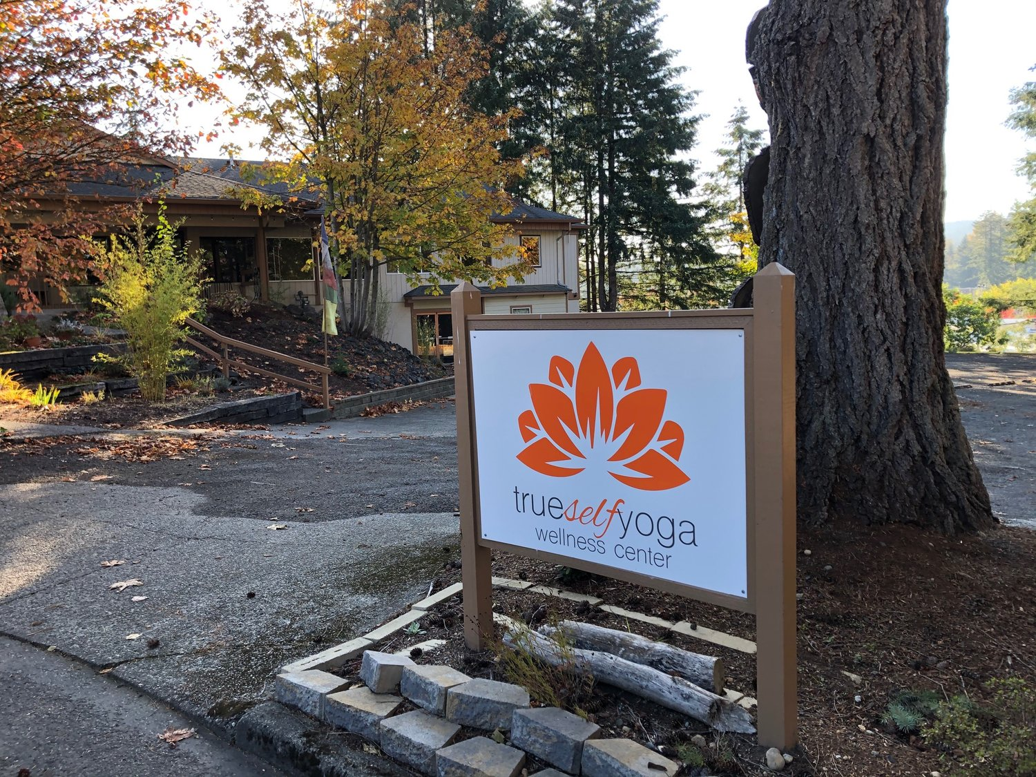 Rainbow Cloud Cafe is located in the True Self Yoga building, behind McKinney's Appliance Center in west Olympia.