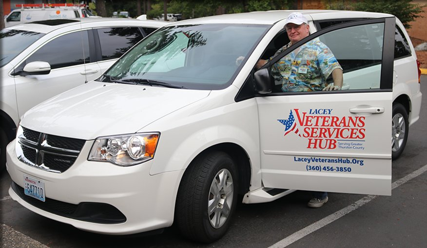 Free transportation to American Lake VA Medical Center is available to veterans from the Lacey Veterans Services Hub.
