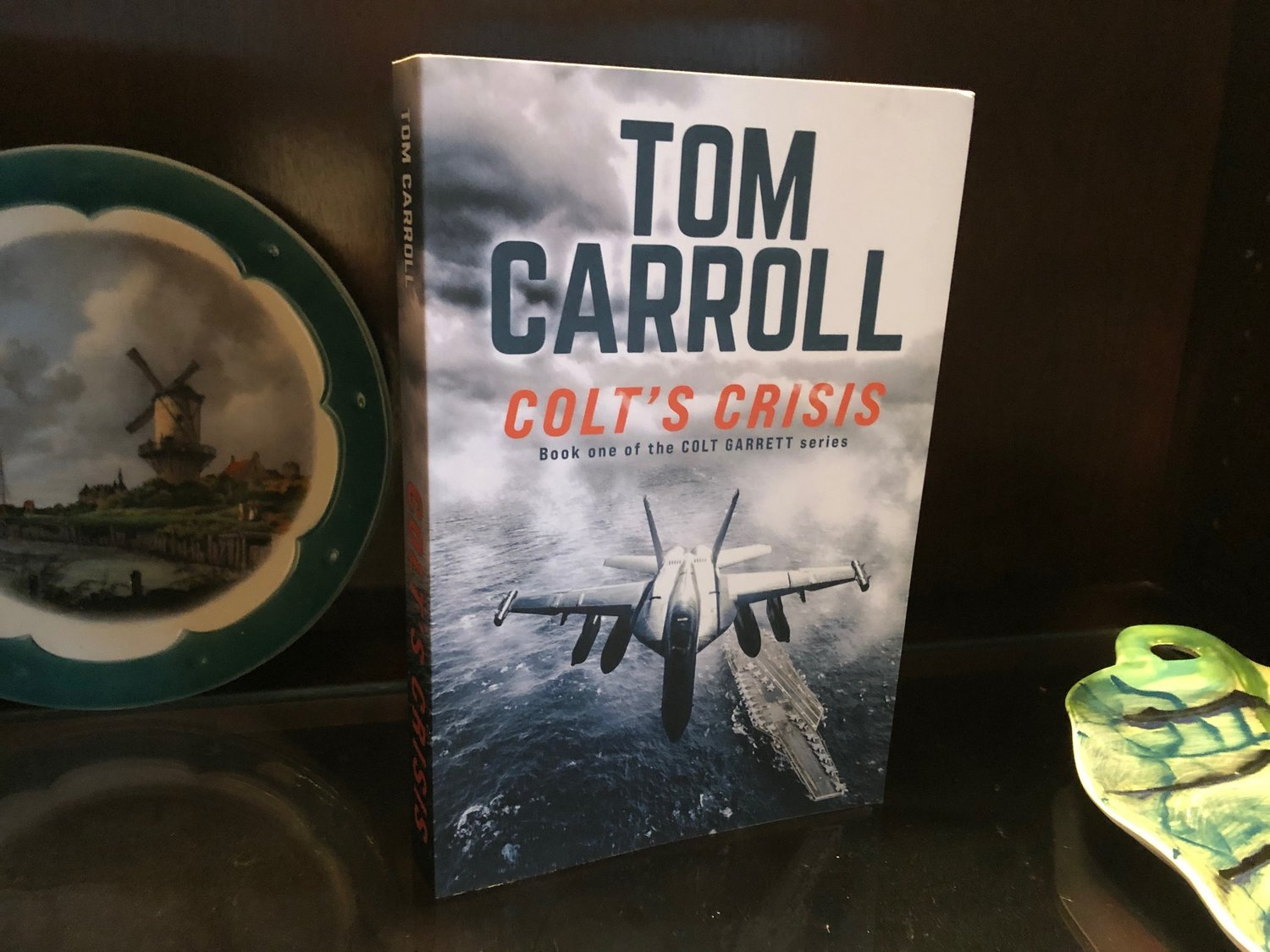 Colt's Crisis is Tom Carroll's first novel, published in Nov. 2020.
