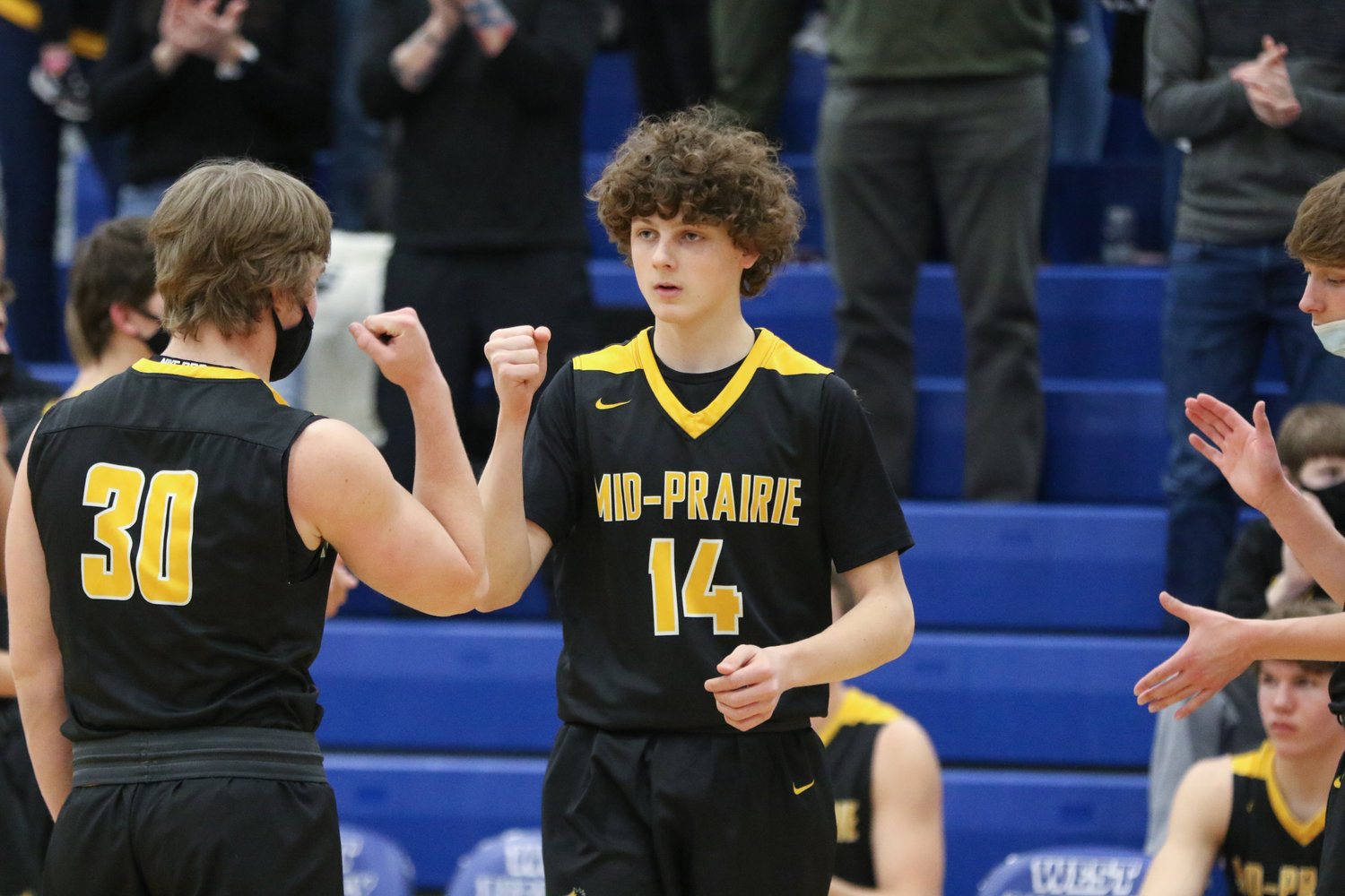 Best passing: Jack Pennington at West Liberty. Pennington did not score a point, but with 11 assists, he was still one of the top playmakers in Mid-Prairie's win over West Liberty on February 6.
