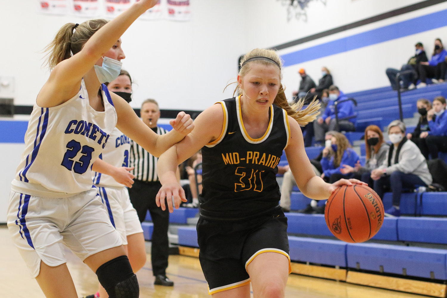 Best offensive game: Myah Lugar at Tipton. Lugar needed just nine shot attempts to put up 24 points as the Golden Hawks bounced back from their first loss of the season with a 58-30 win at Tipton on December 4.