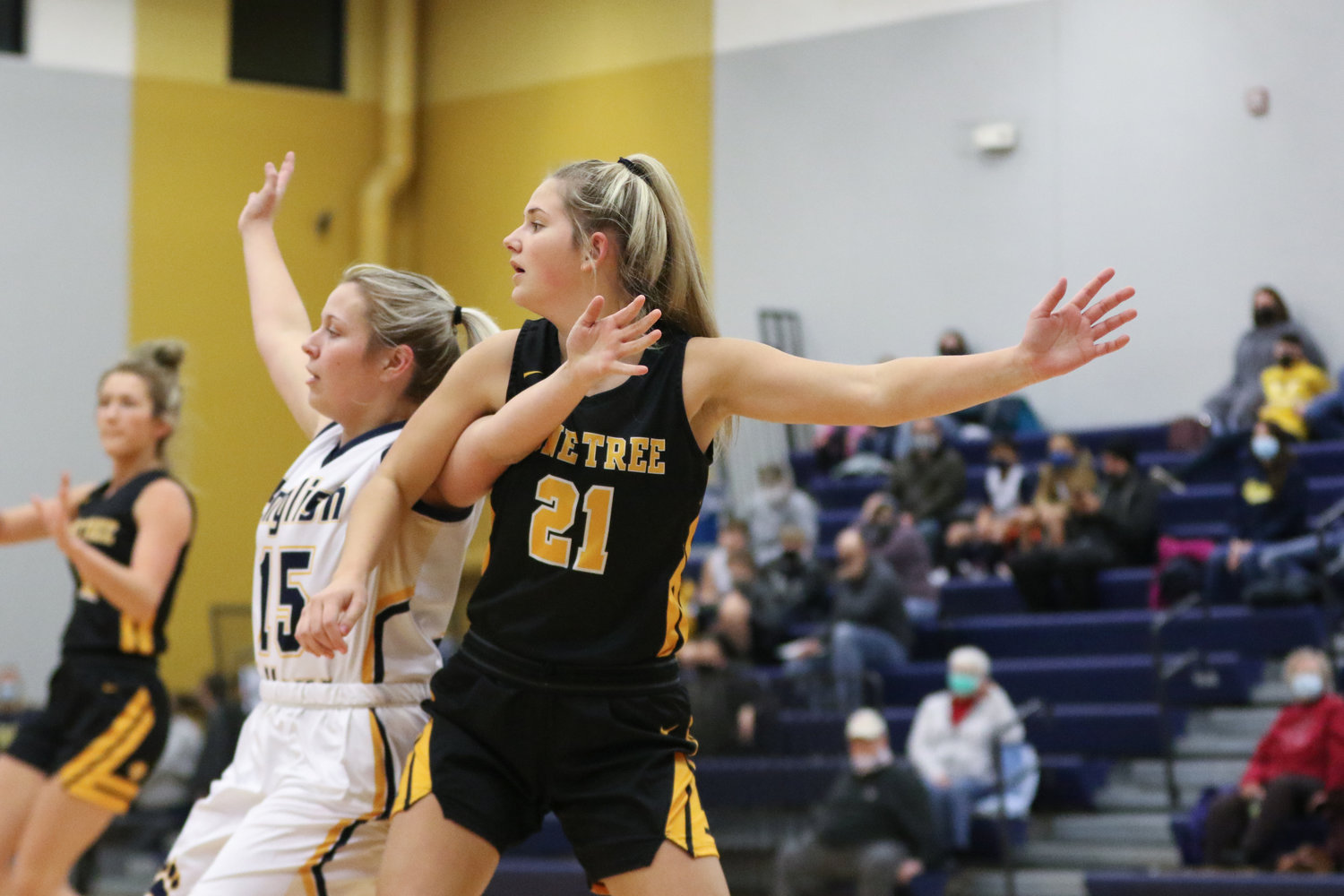 Best overall game: Kasey Chown in a 65-44 win at HLV. The Lady Lion junior grabbed a career-high 18 rebounds in the road win on February 9. She also scored 17 points, had three assists, two steals, and two blocks in Lone Tree's regular season finale.