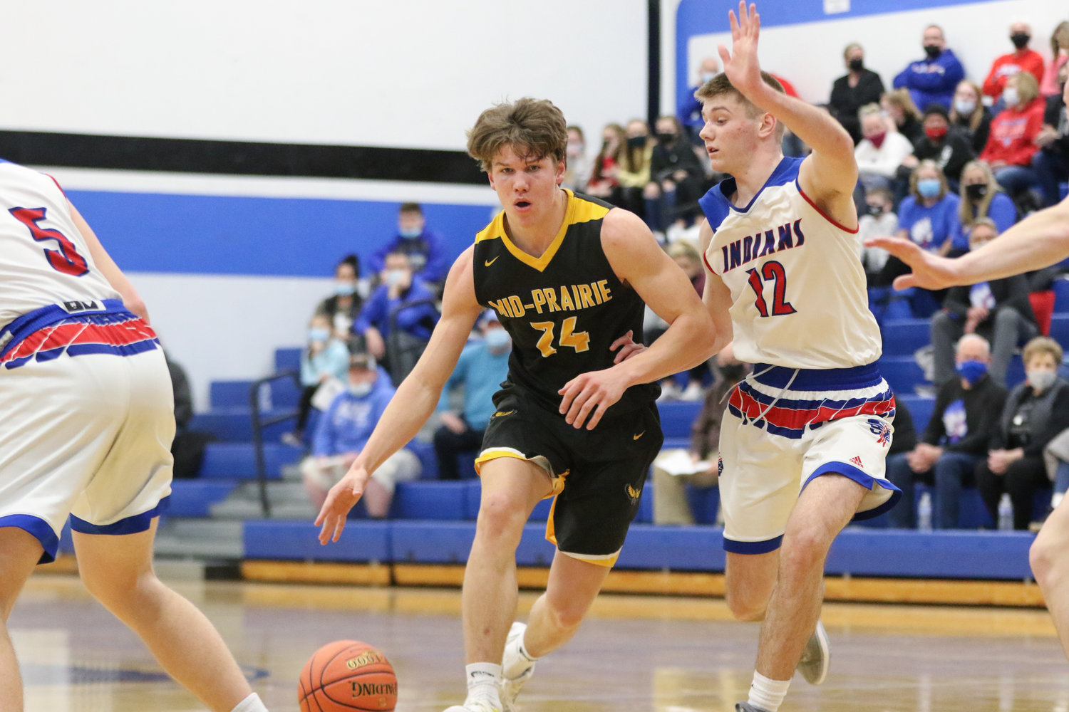 Best overall game: Carter Harmsen in the district final against Camanche. The Mid-Prairie junior scored 32 points on 11-18 shooting against a tough defense that led the RVC North in steals and blocked shots.