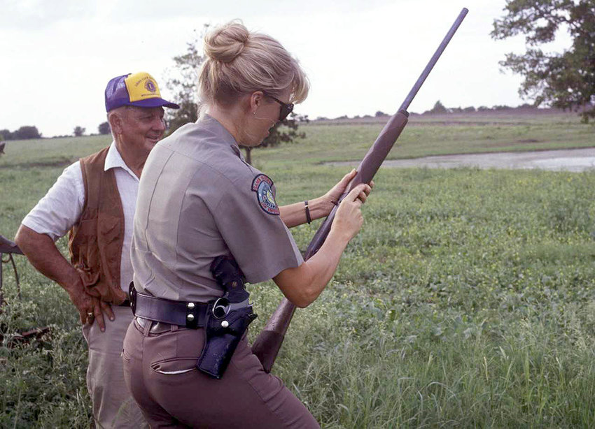Game wardens will be checking for current hunting licenses and obedience of all other TPWD and federal migratory regulations when dove season opens Sept. 1, including the requirement that all pump and semi-automatic shotguns must be plugged to hold no more than three live shells. The hunter pictured was legal in every aspect.