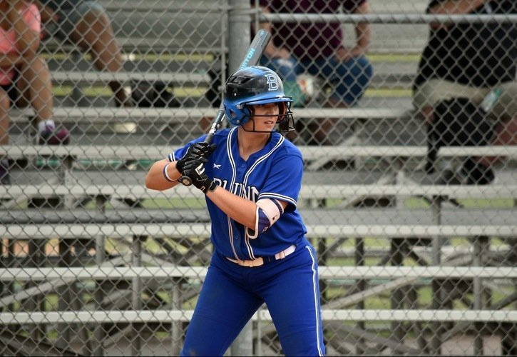 Kimber Cortemelia was one of the key cogs in the machine that helped Blinn College's softball team break records en route to a Region XIV South Championship in 2019.