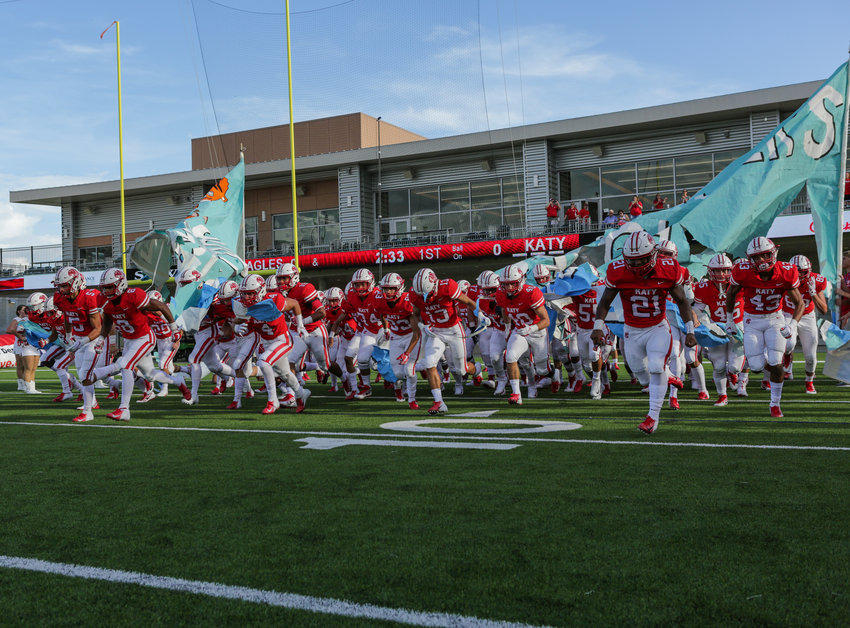 Katy High will initiate its bid for a state-record ninth state championship with a nationally-televised game at North Shore on Aug. 29 on ESPNU.