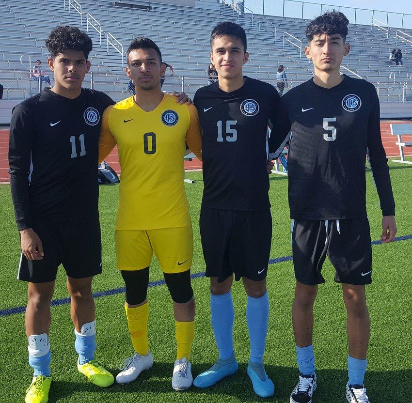 Paetow senior Kevin Vasquez, senior goalkeeper Omar Rangel, junior David Montelongo and senior Jose Toro are among the returning experienced players for the Panthers this year. Vasquez, Montelongo and Toro serve as captains for the team.