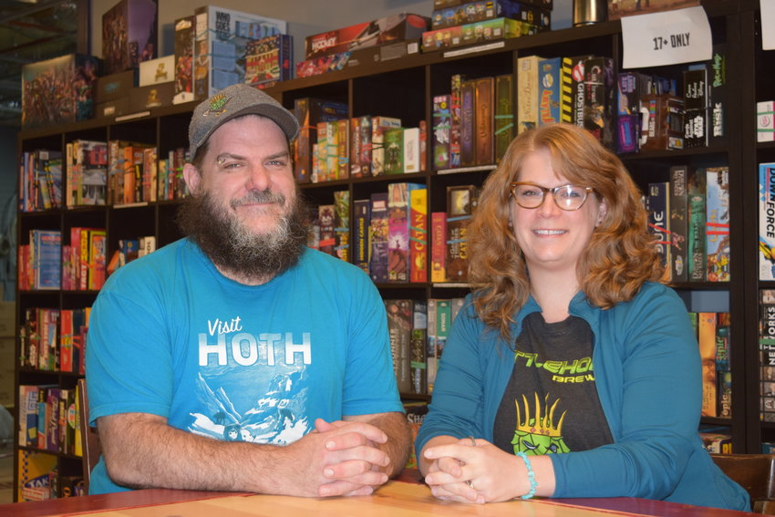 JD Merritt and his wife Jessica Merritt are the owner-operators of Battlehops Brewing in Katy.