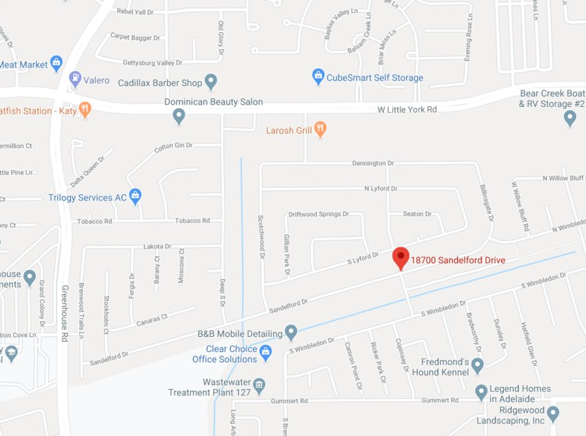 Three to four men broke into a home in the 18700 block of Sandelford Drive in the Katy area early in the morning of Feb. 28. HCSO is investigating the incident which led to the shooting of one suspect who is expected to recover.