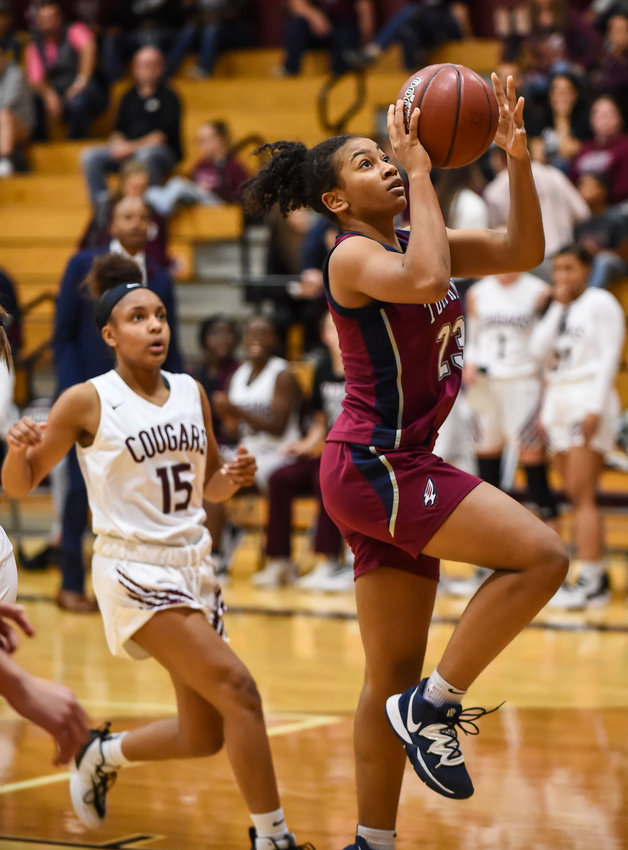 Tompkins freshman guard Loghan Johnson was named 19-6A's All-District Most Valuable Player.