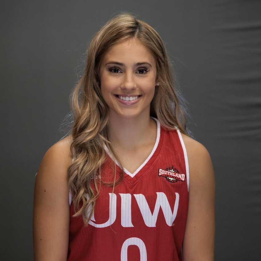 Former Taylor standout and Incarnate Word sophomore guard Macy Ray.