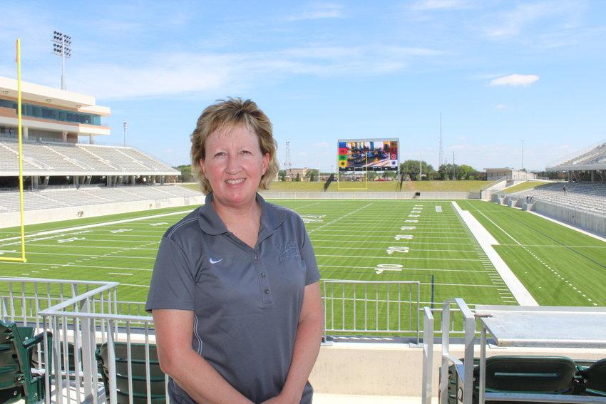 Katy ISD athletics director Debbie Decker,