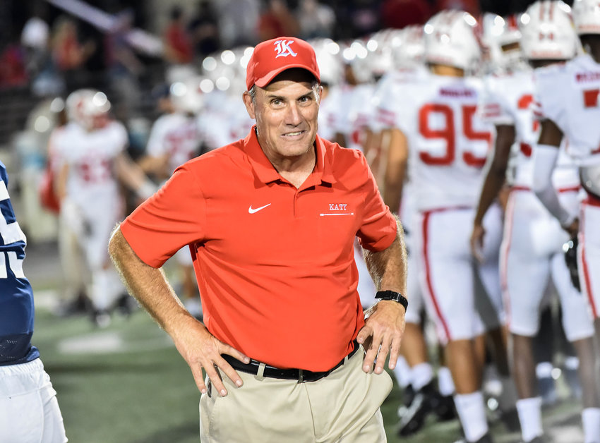 Katy head football coach Gary Joseph was recently recognized as a 2019 Regional Power of Influence Award winner, an honor given to coaches for their impact on their team, as well as the legacy they leave with the school and surrounding community.