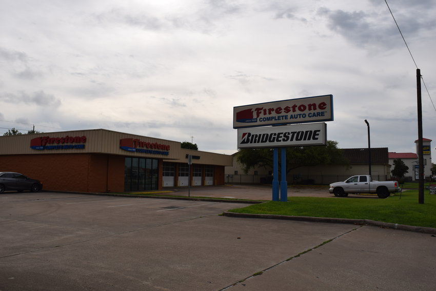 This Firestone Complete Auto Care store located on Fry Road just north of I-10 is closed after an employee tested presumptive positive for novel coronavirus.