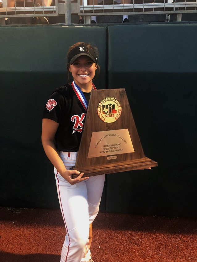 Sydney Blakeman has enjoyed a decorated high school career at Katy, with a state championship in 2019, and is set to continue her softball career at the next level with the University of Texas-San Antonio.