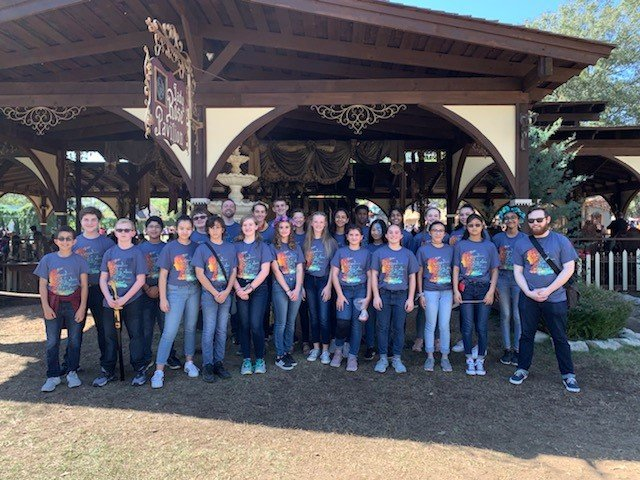 Katy ISD has been recognized as on the National Association of Music Merchants Foundation's Best Communities for Music Education list this year. Here, Beck Junior High's Con Brio Choir celebrates their win at the Texas Renaissance Festival's choir competition earlier in the school year.