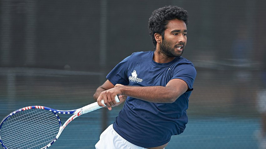 In just over a year of playing tennis for the St. Edward's Hilltoppers, Tompkins alum Anish Sriniketh garnered Intercollegiate Tennis Association (ITA) Rookie of the Year, Heartland Conference Freshman of the Year as well as All-Heartland First-Team honors for his 2019 season. He was also the conference's Player of the Week four times and made the Heartland Conference President's Honor Roll for the Fall 2018 and Spring 2019 semesters.