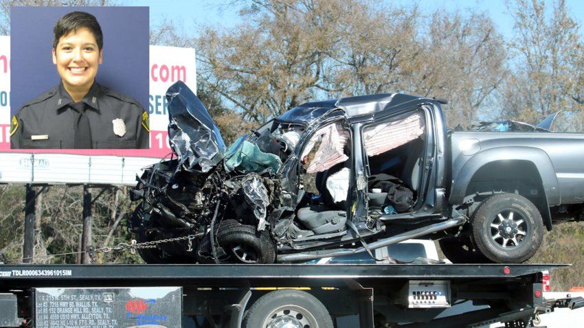 Off-duty Houston Police Department officer Gizelle Solorio was killed in a motor vehicle accident on I-10 near Sealy Dec. 19 of last year. After an investigation, Solorio – who was driving the wrong way on I-10 at the time – was found to have a blood alcohol content of more than twice the legal limit.