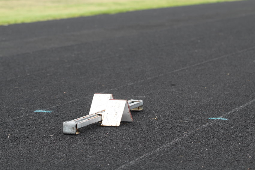 Tracks may be empty now, but student athletes across the state may soon be able to start a conditioning routine for the fall with their coaches' help.