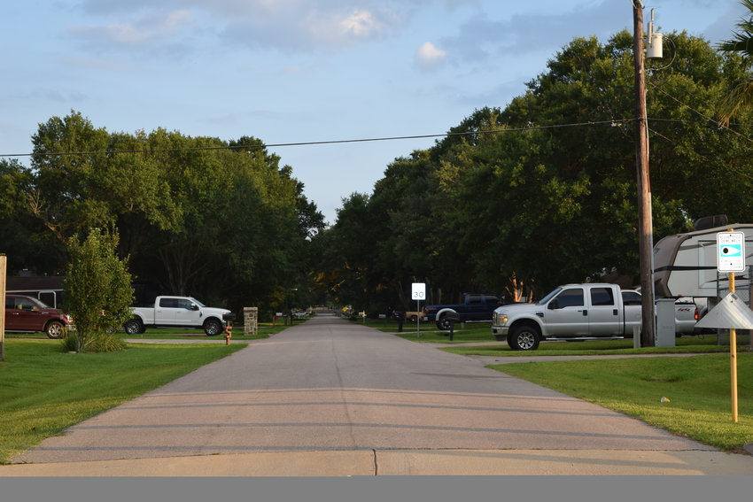 Fortuna Drive (pictured above) and Patna Drive are slated to have curb and gutter systems and other drainage improvements installed to reduce flooding on the north side of Katy in Riceland Terrace. Work is expected to be completed in 2022.