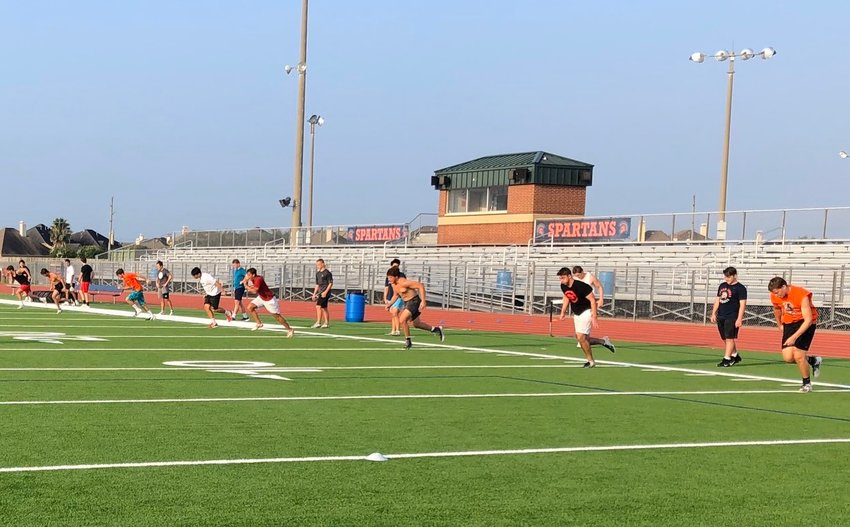 Seven Lakes student-athletes were among those returning to limited, socially distanced strength and conditioning and sport-specific instruction across schools in the UIL on June 8.