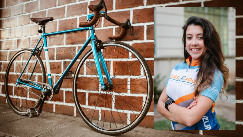 Clara Souza, a Katy area UT Austin student, is participating in a virtual ride to raise money and awareness in the fight against cancer.